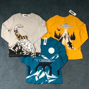 3 New Toddler long sleeve shirt 3T